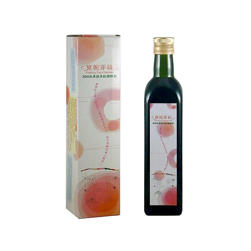《禾氣生技》夏妮菲絲果蔬多酚酵素 禮盒裝 500ml/瓶
