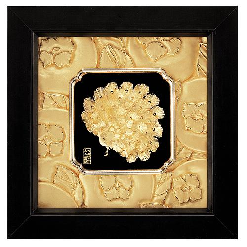 《聖宏》立體金箔畫- 如意系列 (富貴吉祥)