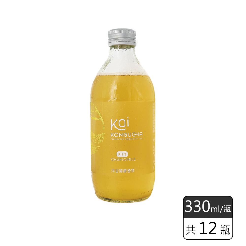 《馥聚 Foody》 Kai康普茶12入組 (洋甘菊*12)