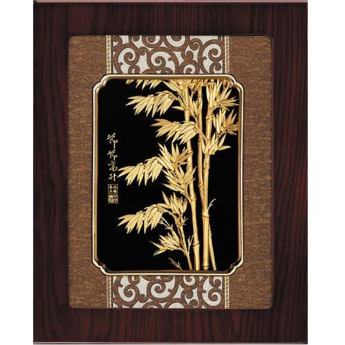 《聖宏》立體金箔畫-框畫系列27x34 (節節高升)