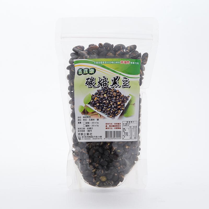 《將軍》炭焙黑豆 (300g)