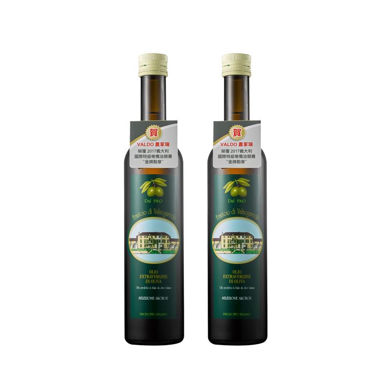 《VALDO農家瑞》第一道冷壓特級初榨橄欖油 500ML (2瓶),全素,橄欖油,第一道,冷壓,初榨