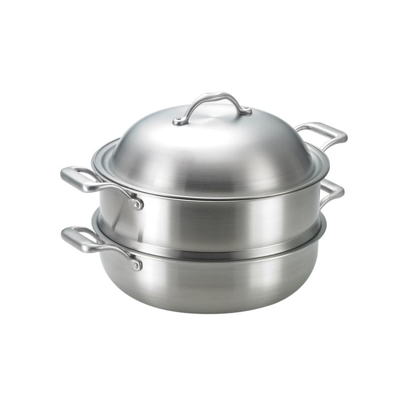 《三葉鍋具》316頂級萬用蒸盤組 (30cm)