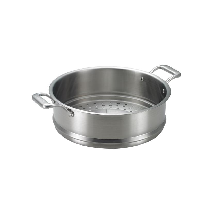 《三葉鍋具》316頂級蒸盤 (30cm)
