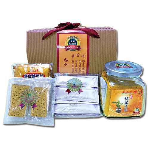 《聖宏》頂級紅薑黃綜合禮盒