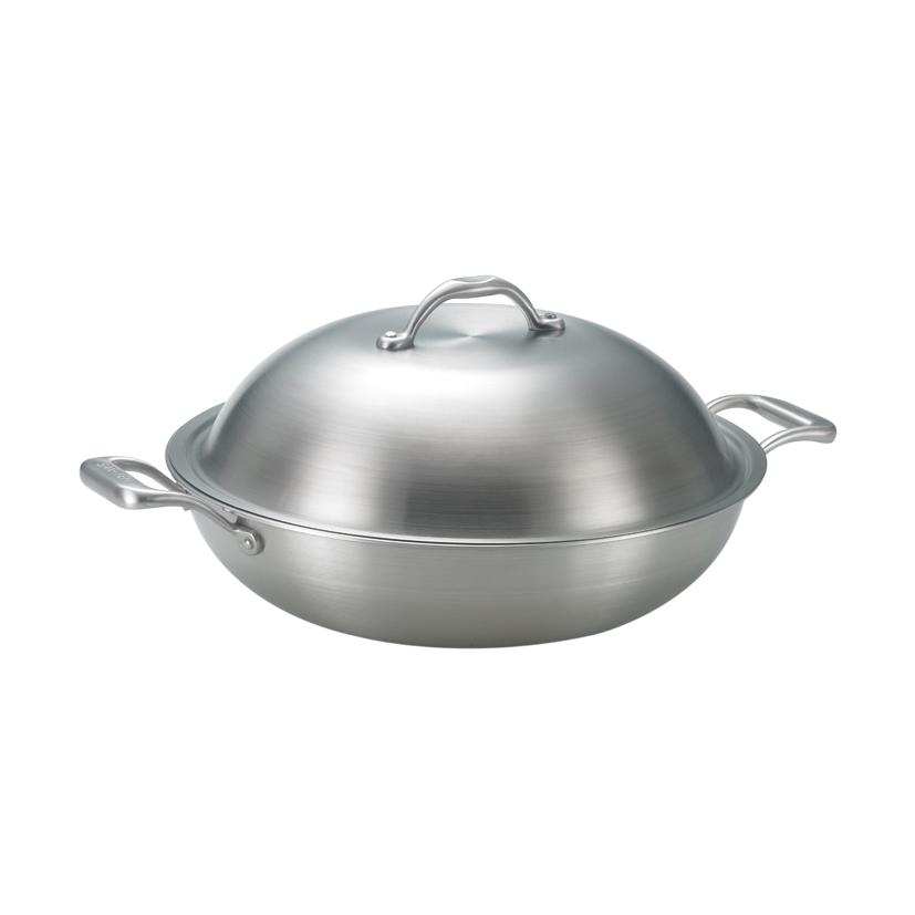 《三葉鍋具》316頂級雙耳美式平炒鍋 (33cm)