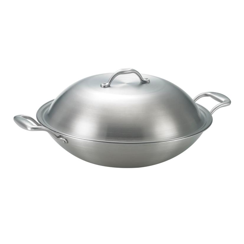 《三葉鍋具》316頂級雙耳炒鍋 (38cm)