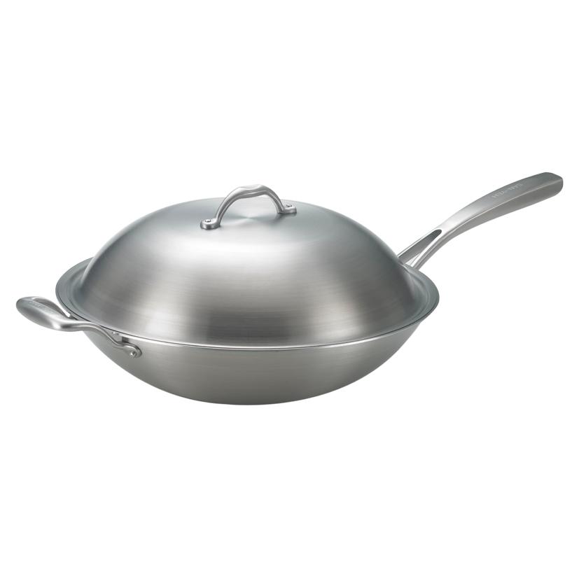 《三葉鍋具》316頂級單耳炒鍋 (38cm)