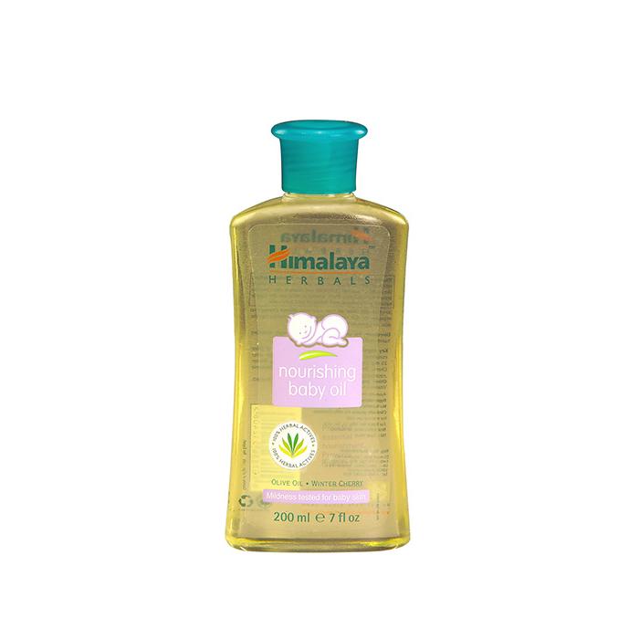 《Himalaya》嬰兒潤膚油 (200ml)