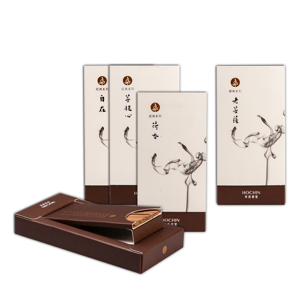 《禾青香堂》舒眠安神-越南沉香-短線香組合 (四盒)