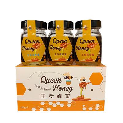 《王后蜂蜜》小蜜蜂蜂蜜禮盒 (3入/盒)