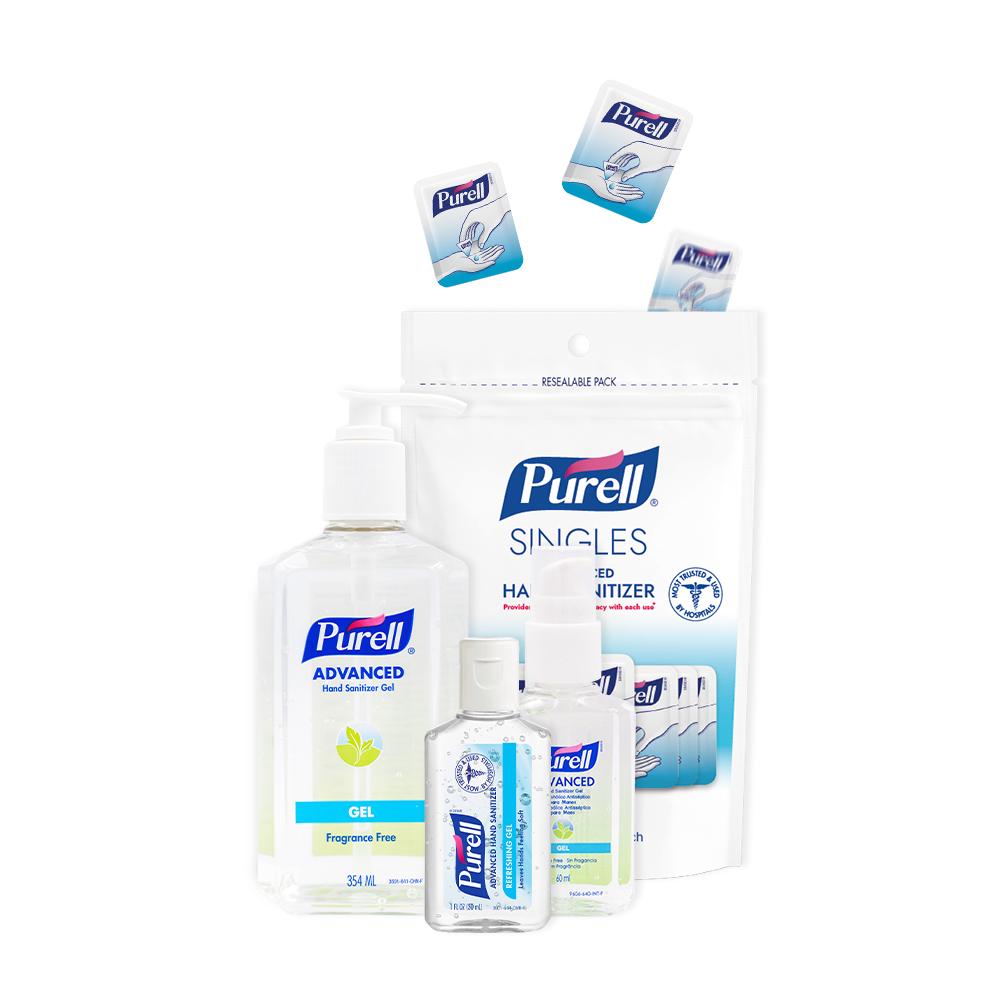 《Purell普瑞來》乾洗手凝露-家庭必備組 (4入),,美國第一名品牌&醫院指定使用,20210329015,《Purell普瑞來》乾洗手凝露-家庭必備組(4入),