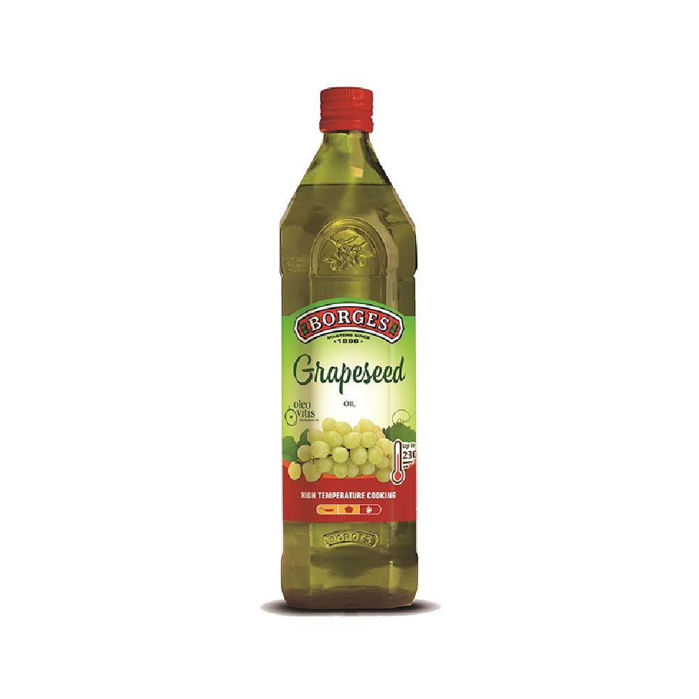 《西班牙BORGES百格仕》葡萄籽油 (1公升/瓶),,歐洲協會認證高品質葡萄籽油,20210414010,《西班牙BORGES百格仕》葡萄籽油(1公升/瓶),